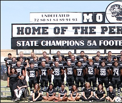 Permian Panthers team photo